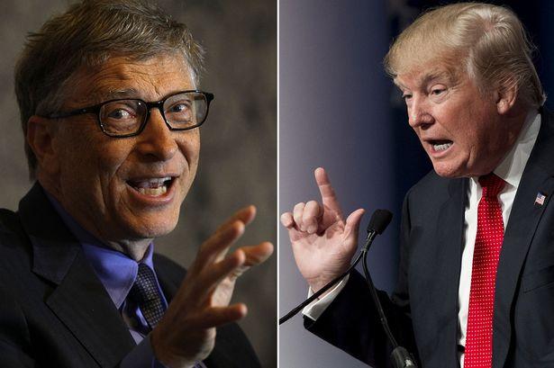 « Pays de merde » : Bill Gates avertit Donald Trump