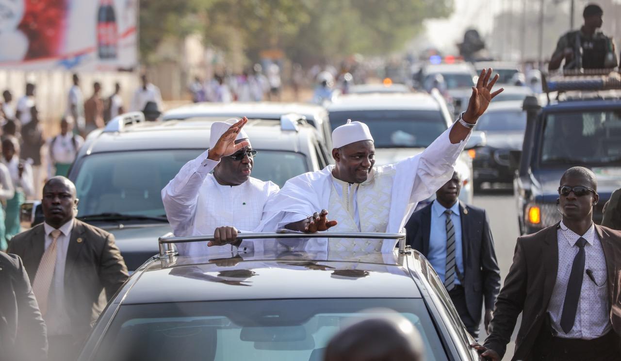 Visite officielle: Macky Sall à Banjul