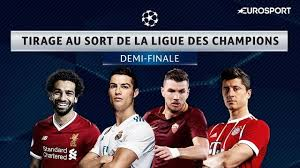 Le tirage au sort des demies finales de la LDC: Real Madrid vs Bayern, Liverpool vs AS Rome