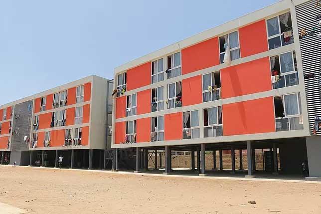 Renforcement des capacités d'hébergement au campus social de l'UCAD: Les 4 pavillons en construction en zone de turbulence