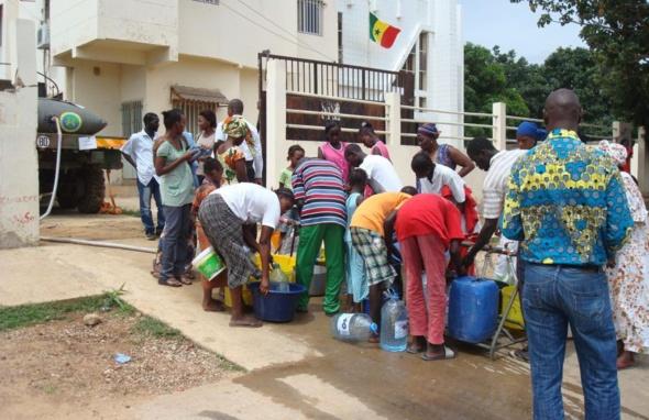 Alerte : Dakar sera privée d'eau pendant 5 jours(Voir communiqué de la SDE)