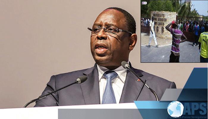 Mort de Fallou SÈNE: Le Président SALL demande au Gouvernement de ''situer les responsabilités''
