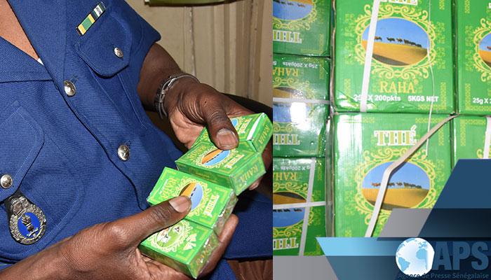 CONSOMMATION: Saisie de plus de 2200 cartons de thé impropre à la consommation