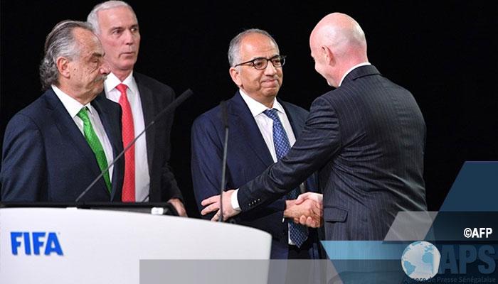 FOOTBALL: La Coupe du Monde 2026 attribuée au trio Etats-unis, Mexique et Canada