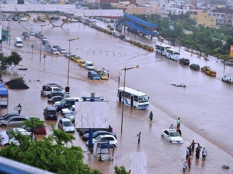 Fortes pluies entre jeudi et vendredi : plusieurs localités du Sénégal sous les eaux