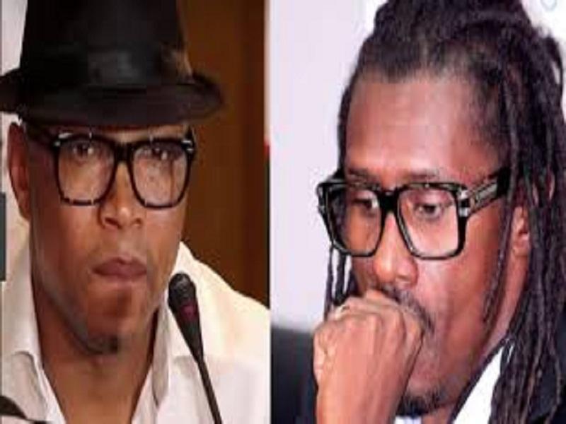 """Comment Diouf et d'autres """"Lions"""" ont pris à partie Aliou Cissé... après le match des Légendes"""