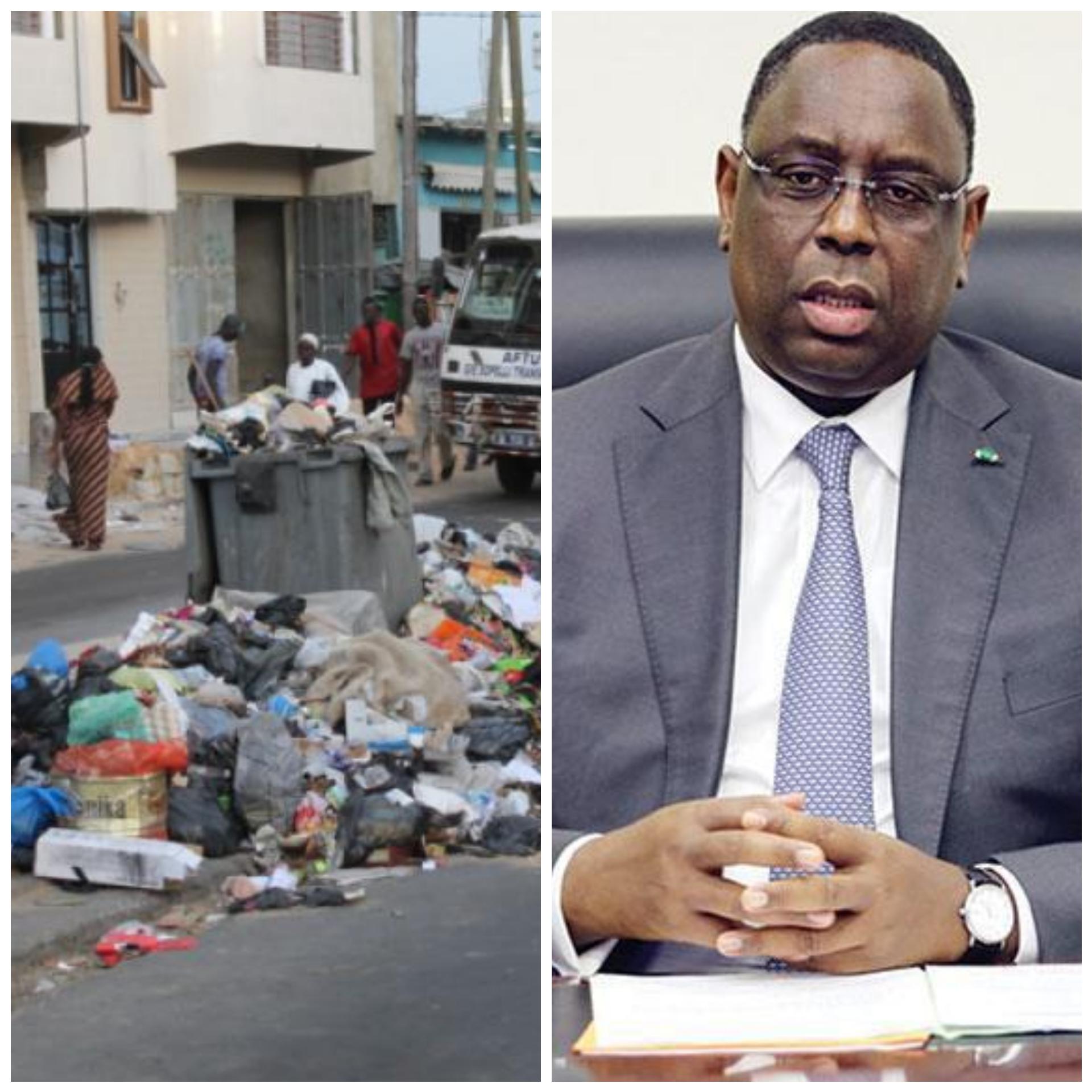 """Macky Sall veut un Sénégal """"zéro dechet"""""""