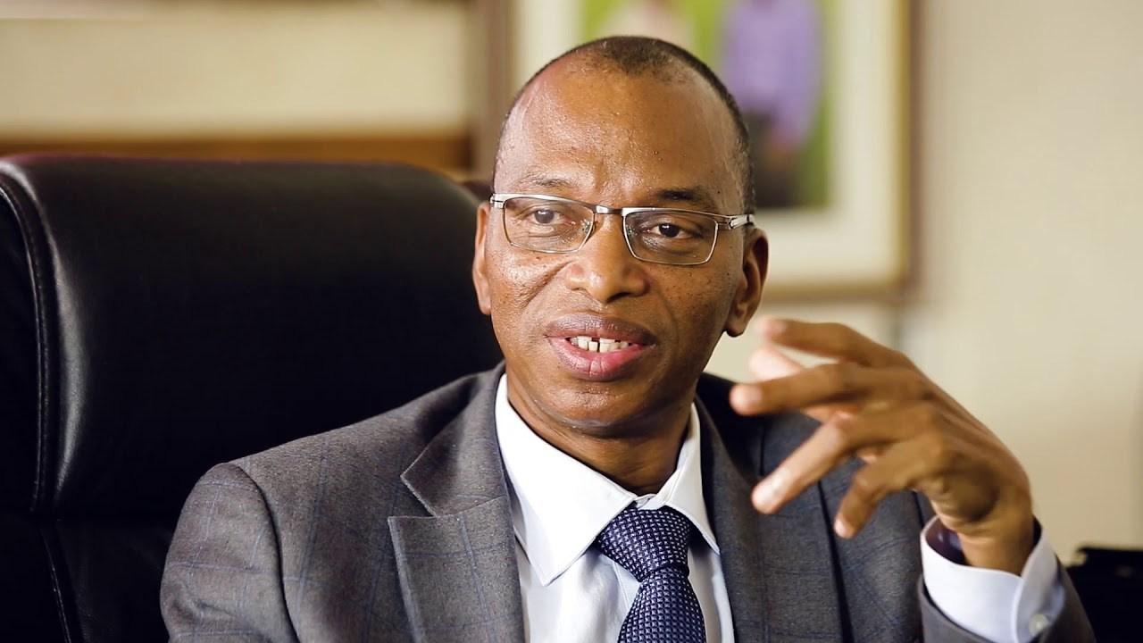 Portrait de Moussa Baldé nouveau ministre de l'Agriculture et de l'Equipement rural,