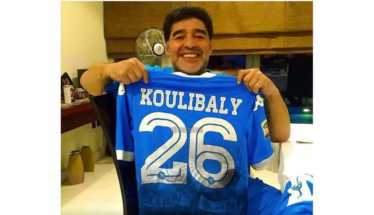 Maradona: « je suis avec Kalidou Koulibaly »