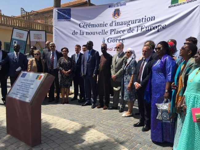 La Place de l'Europe débaptisée : Gorée recouvre sa Liberté et sa Dignité