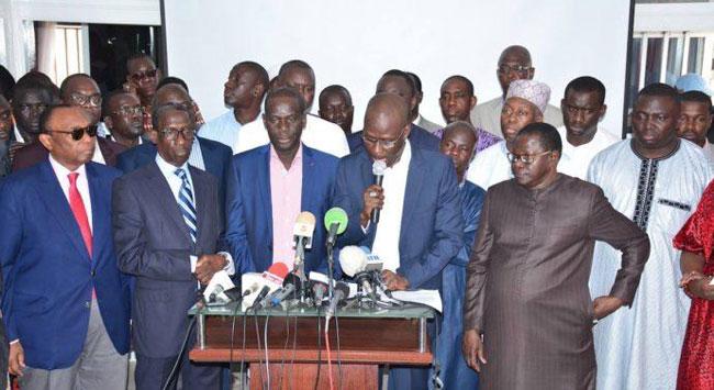 Travaux de la commission du dialogue politique: l'opposition sera présente