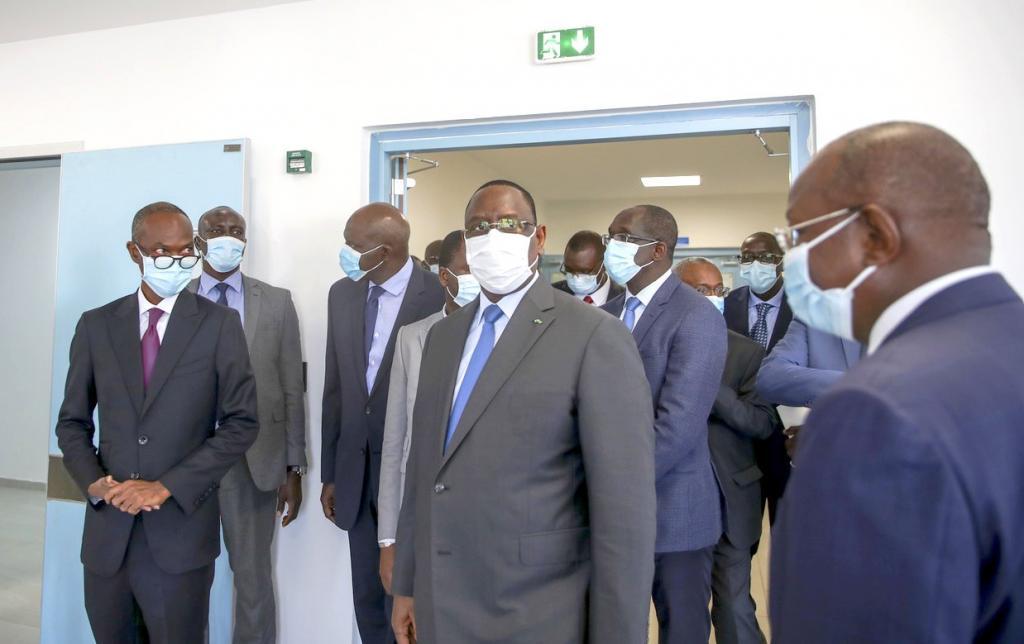 COVID - Macky en visite surprise dans les centres de traitement