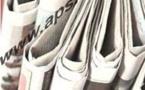 Presse revue: Divers sujets au menu des journaux