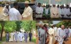 En vacances à Popenguine:  Macky à la mosquée et chez la communauté chrétienne