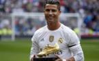 Football: Cristiano Ronaldo élu joueur UEFA de l'année devant Antoine Griezmann et Gareth Bale