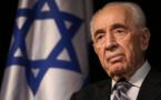 Moyen-orient: Mort de Shimon Peres, dernier père fondateur d'Israël