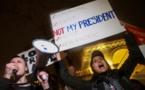 Etats-unis:«Not my president», des milliers de manifestants contre l'élection de Trump