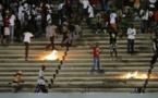 Audio- Navétanes : Un jeune homme tombe d'une tribune lors d'une bagarre et se fracture..!Ecoutez!