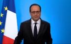 François Hollande, président français: «J'ai décidé de ne pas être candidat»