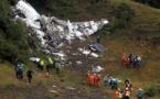 Crash en Colombie: l'hypothèse de la panne de carburant se précise