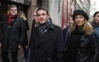 France: Manuel Valls enfariné à Strasbourg(Vidéo)