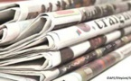 Presse-revue: L'affaire des marchés fictifs au ministère de l'hydraulique à la Une