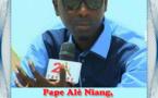 Pape Alé Niang, homme de l'année 2016 de SENXIBAR