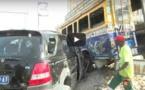 Collision entre un car-rapide et un 4X4 : Plusieurs blessés dénombrés(vidéo)