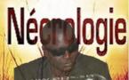 Musique-Nécrologie: Décès du chanteur Ablaye Mbaye, à Dakar