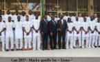 Vidéo: Macky réagit à la mi-temps de Sénégal-Tunisie