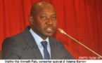 Gambie: Adama Barro sera investi jeudi(Conseil spécial)