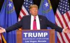 Donald Trump devient président des Etats-Unis