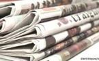 Presse-revue: Une diversité de sujets à la Une des quotidiens