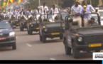 Vidéo : parade triomphale des Lions indomptables dans les rues de Yaoundé