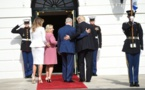 Donald Trump accueille Benjamin Netanyahu à la Maison Blanche