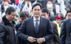 COREE:L'héritier de l'empire Samsung arrêté pour soupçons de corruption