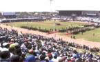 Commémoraton de l'indépendance de la Gambie: Une foule immense au stade  BAKAU, EN ATTENDANT LE DÉBUTS DES FESTIVITÉS