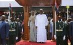 Gambie-Indépendance-ommémoration: Arrivée du Président Sall au stade de Bakau à  Banjul