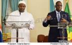 Trafics illicites entre le Sénégal et la Gambie: Macky et Barrow s'engagent à mettre fin à l'insécurité(Vidéo)