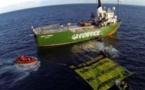 Alerte Greenpeace: Le pillage des ressources halieutiques se poursuit