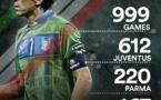 Buffon joue ce vendredi son 1000e match avec l'Italie