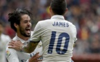 LIGA: Le Real Madrid libéré par Isco sur la pelouse de Gijon(vidéo)