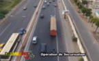 Vidéo – Sénégal : Arrestation spectaculaire d'un camion de « Yamba » par la gendarmérie sur l'autoroute