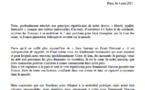 France: Les autorités juive, protestante et musulmane appellent ensemble à voter Macron(Communiqué)