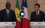 """En visite en France: Macky veut que l'Afrique ne soit pas """"le ventre mou"""" face au """"terrorisme"""""""
