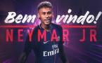 Football: Neymar au PSG, c'est officiel