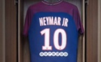 Première séance d'entraînement de Neymar avec le PSG