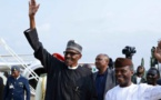 Nigeria: le président Buhari de retour après plus de trois mois d'absence