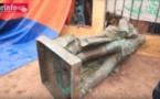 Saint-Louis: Chute de la statue de Faidherbe(vidéo)