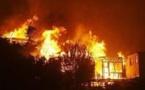 Incendie aux Almadies: La salle de spectacle du petit théâtre en feu(vidéo)